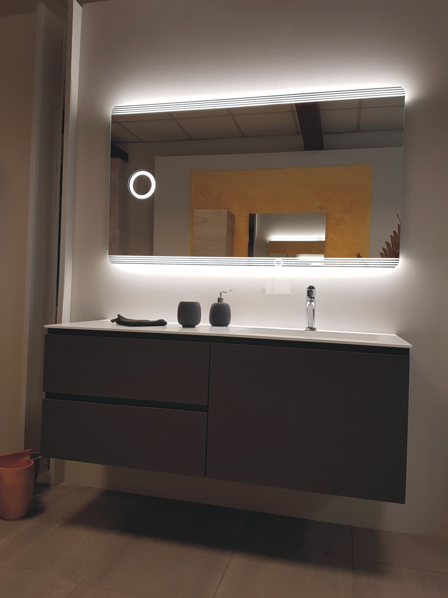 Offerta mobile bagno antracite outlet del bagno - Outlet del bagno rubiera ...